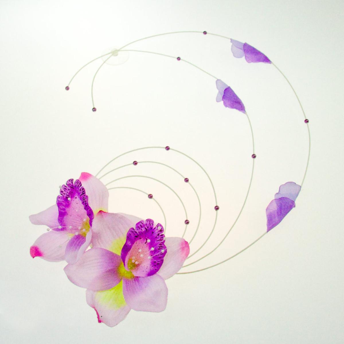Dekorace Na Auto Lilie Kombinace Lila 1 Ks Fialova Svatebni