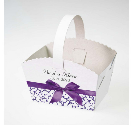 0520ff271e Košíčky na koláčky - Krabice a krabičky - Dárky pro svatebčany