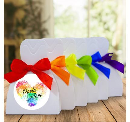b87bf8702 Dárková krabička DRESS - Lesbická svatba - 6,5 x 9 x 4 cm (